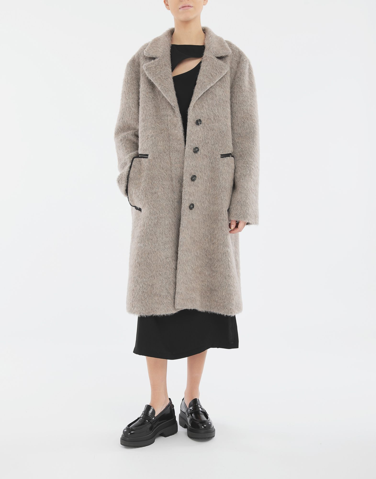 MM6 MAISON MARGIELA Mohair coat Coat Woman d