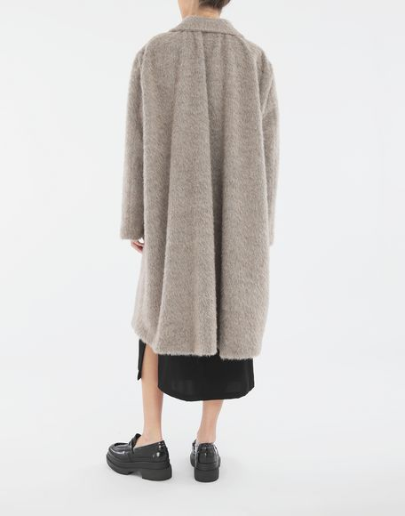MM6 MAISON MARGIELA Mohair coat Coat Woman e