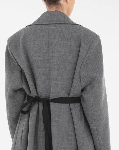 コート・ジャケット テクノウール コート グレー