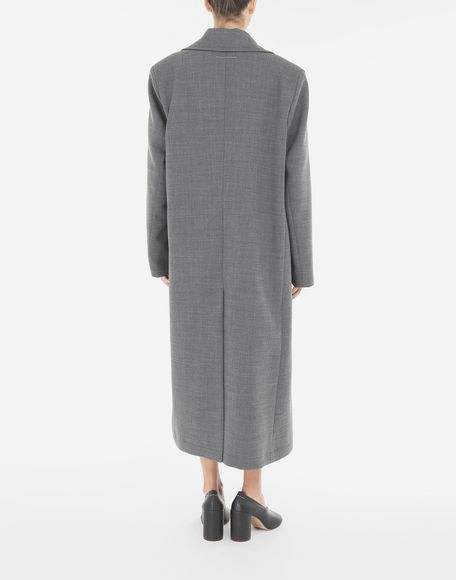 MM6 MAISON MARGIELA Techno-wool coat Coat Woman e