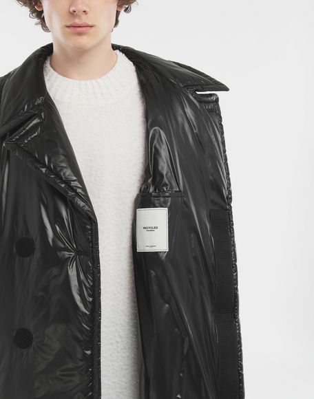 MAISON MARGIELA Padded nylon coat Coats and Trenches Man a