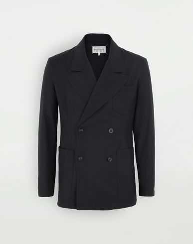 COATS & JACKETS Pocket blazer Blue