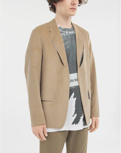 COATS and JACKETS Décortiqué blazer Beige