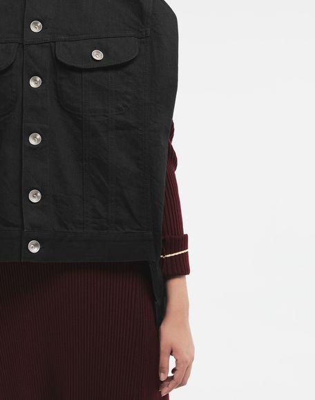 MAISON MARGIELA Reworked denim top Jacket Woman a