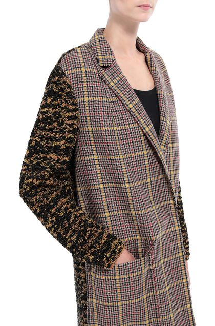 M MISSONI Coat Sand Woman - Front