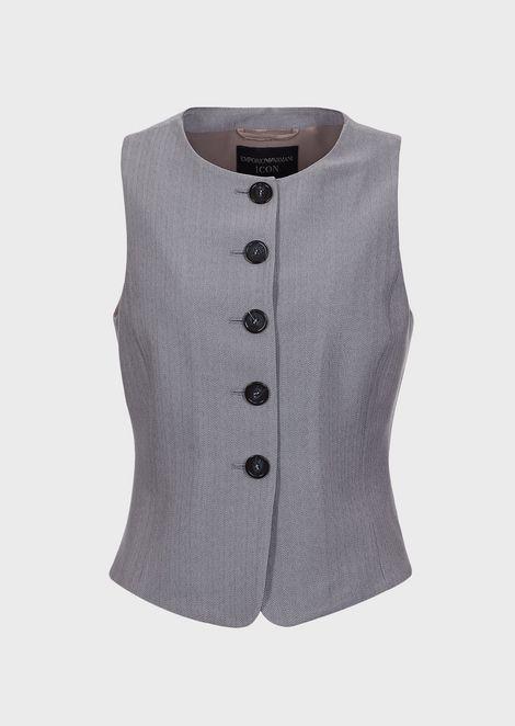 EMPORIO ARMANI Vest Woman d