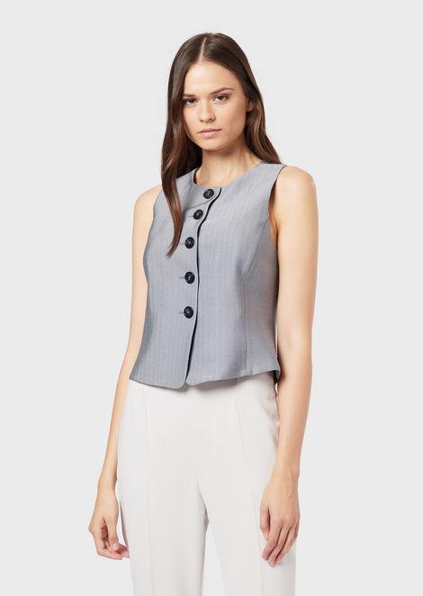 EMPORIO ARMANI Vest Woman f