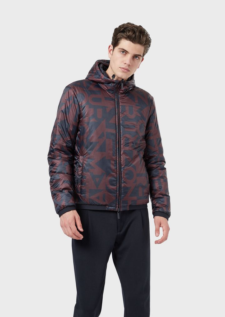 cc845d2a75 Reversible jacket with all-over print