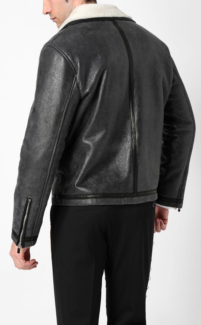 JUST CAVALLI Leather jacket Jacket Man a