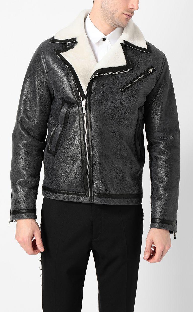 JUST CAVALLI Leather jacket Jacket Man r