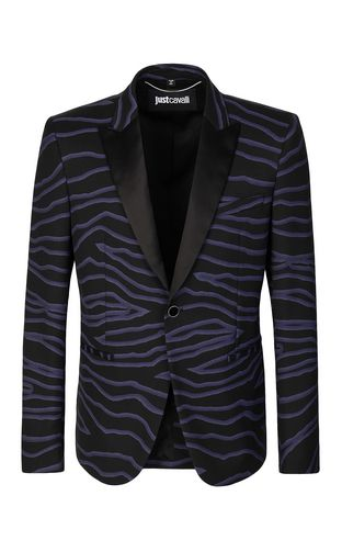 JUST CAVALLI Blazer Man Neon-zebra jacket f
