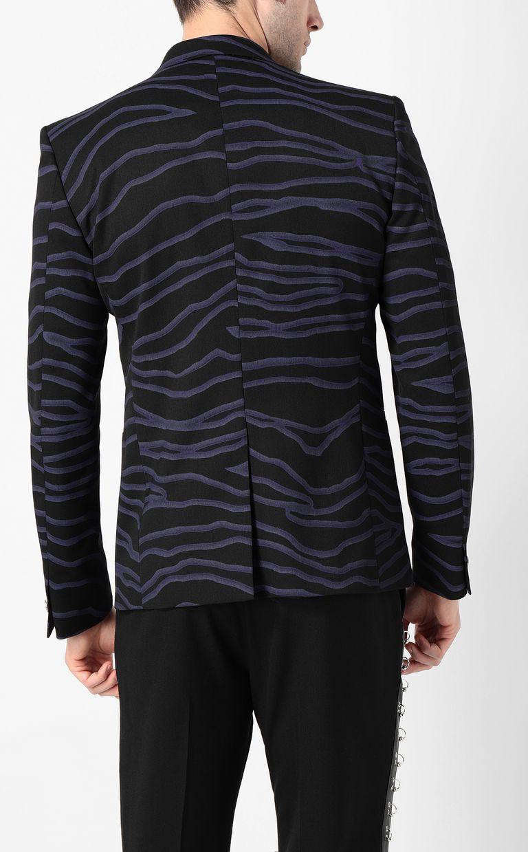 JUST CAVALLI Neon-zebra jacket Blazer Man a