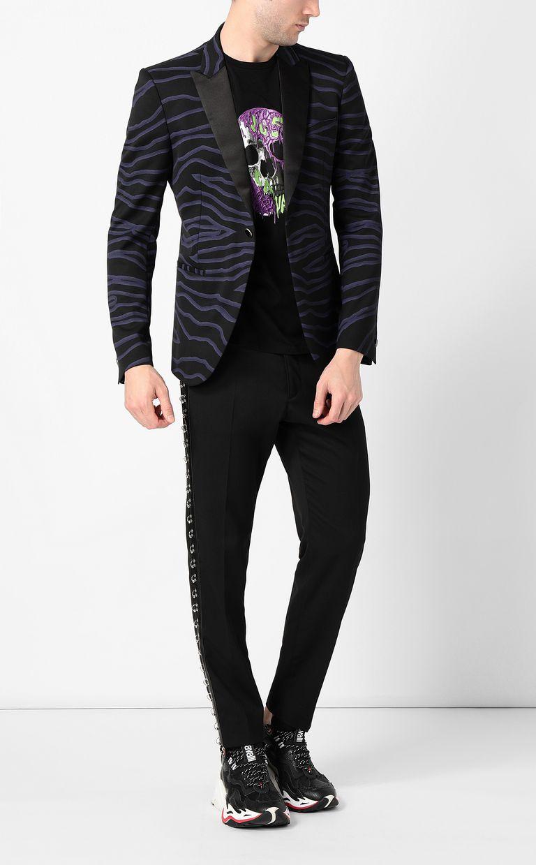 JUST CAVALLI Neon-zebra jacket Blazer Man d