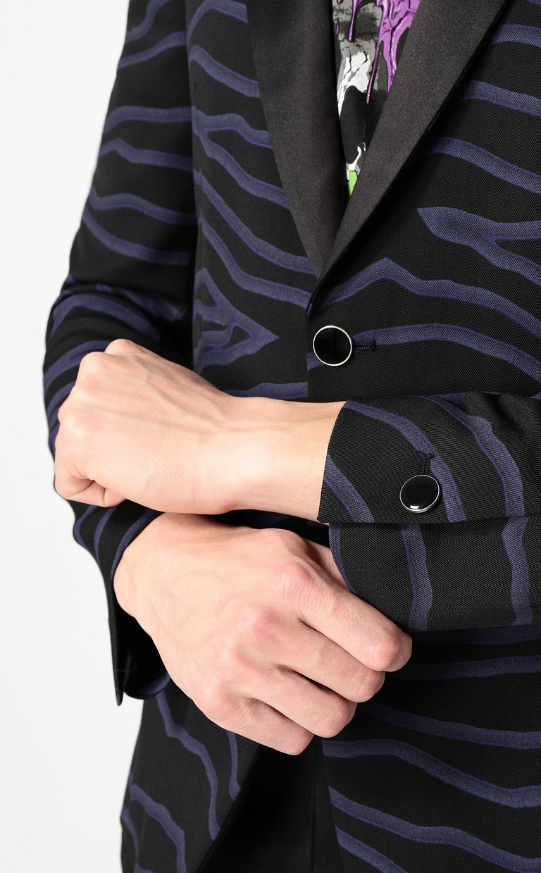 JUST CAVALLI Neon-zebra jacket Blazer Man e