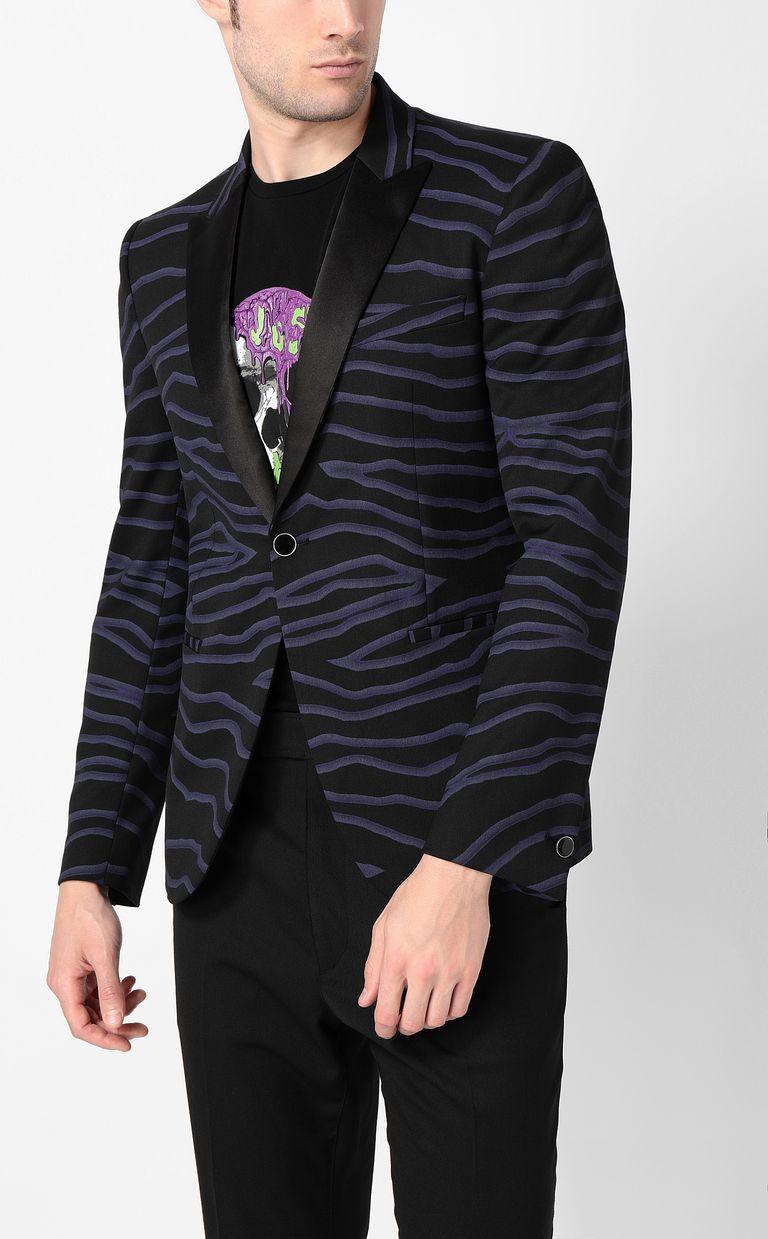 JUST CAVALLI Neon-zebra jacket Blazer Man r