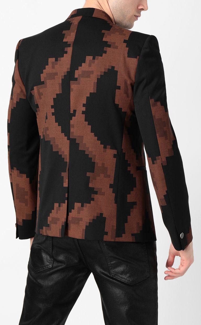 JUST CAVALLI Camouflage jacket Blazer Man a