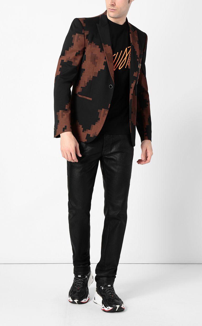 JUST CAVALLI Camouflage jacket Blazer Man d