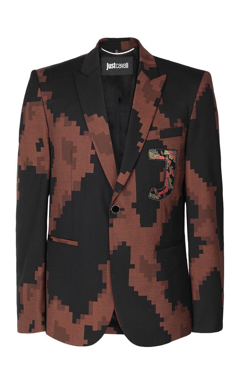 JUST CAVALLI Camouflage jacket Blazer Man f