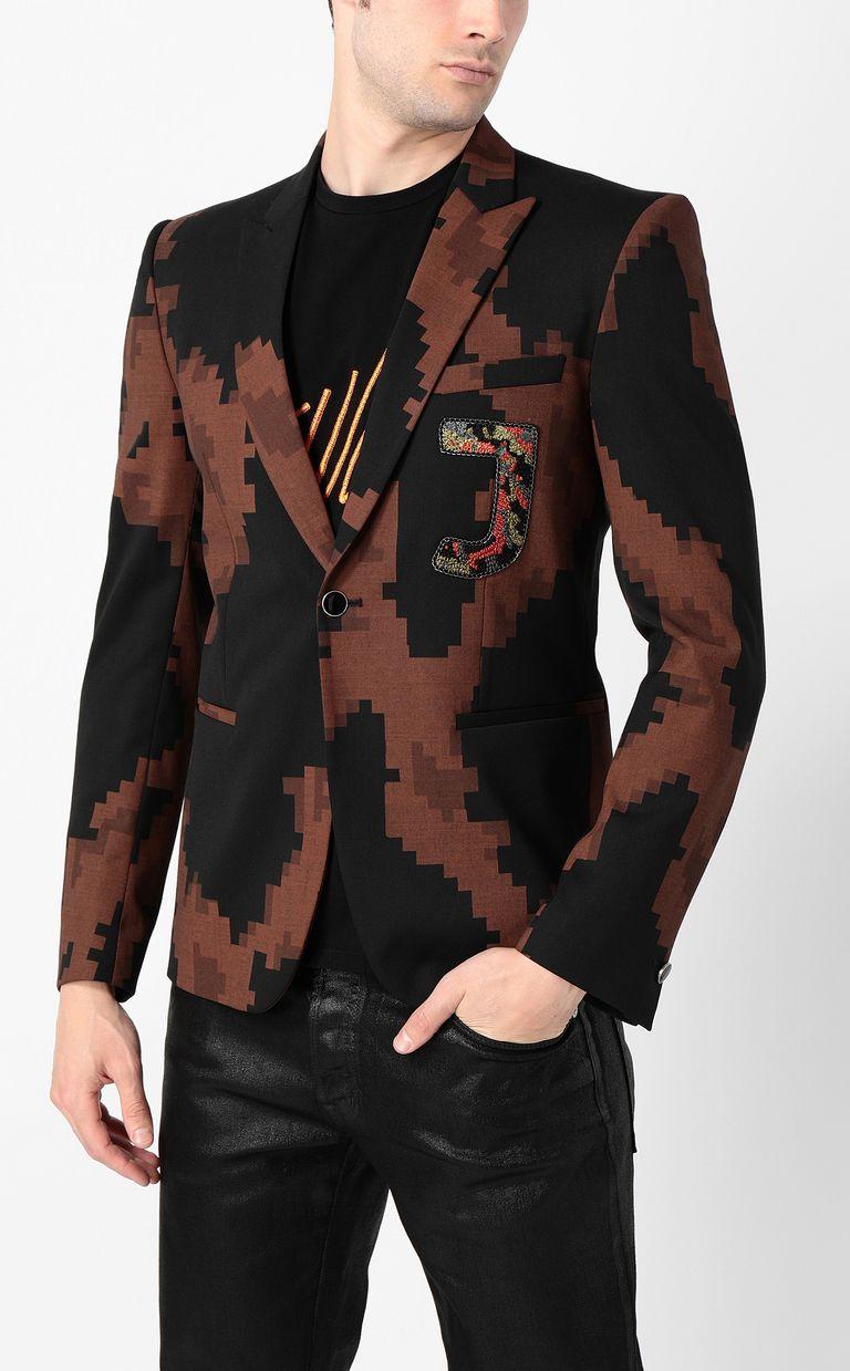 JUST CAVALLI Camouflage jacket Blazer Man r