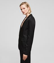 KARL LAGERFELD Cameo Jacquard Jacket Jacket Woman d