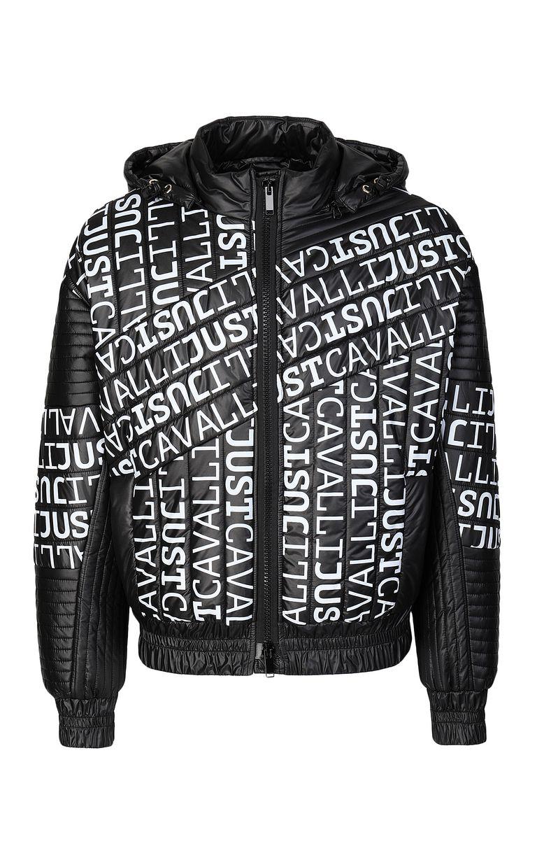 JUST CAVALLI Logomania bomber jacket Blazer Man f
