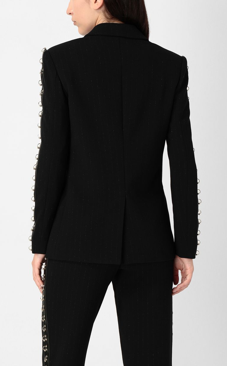 JUST CAVALLI Jacket with pierced details Blazer Woman a