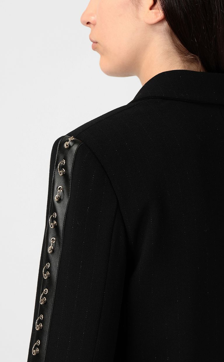 JUST CAVALLI Jacket with pierced details Blazer Woman e