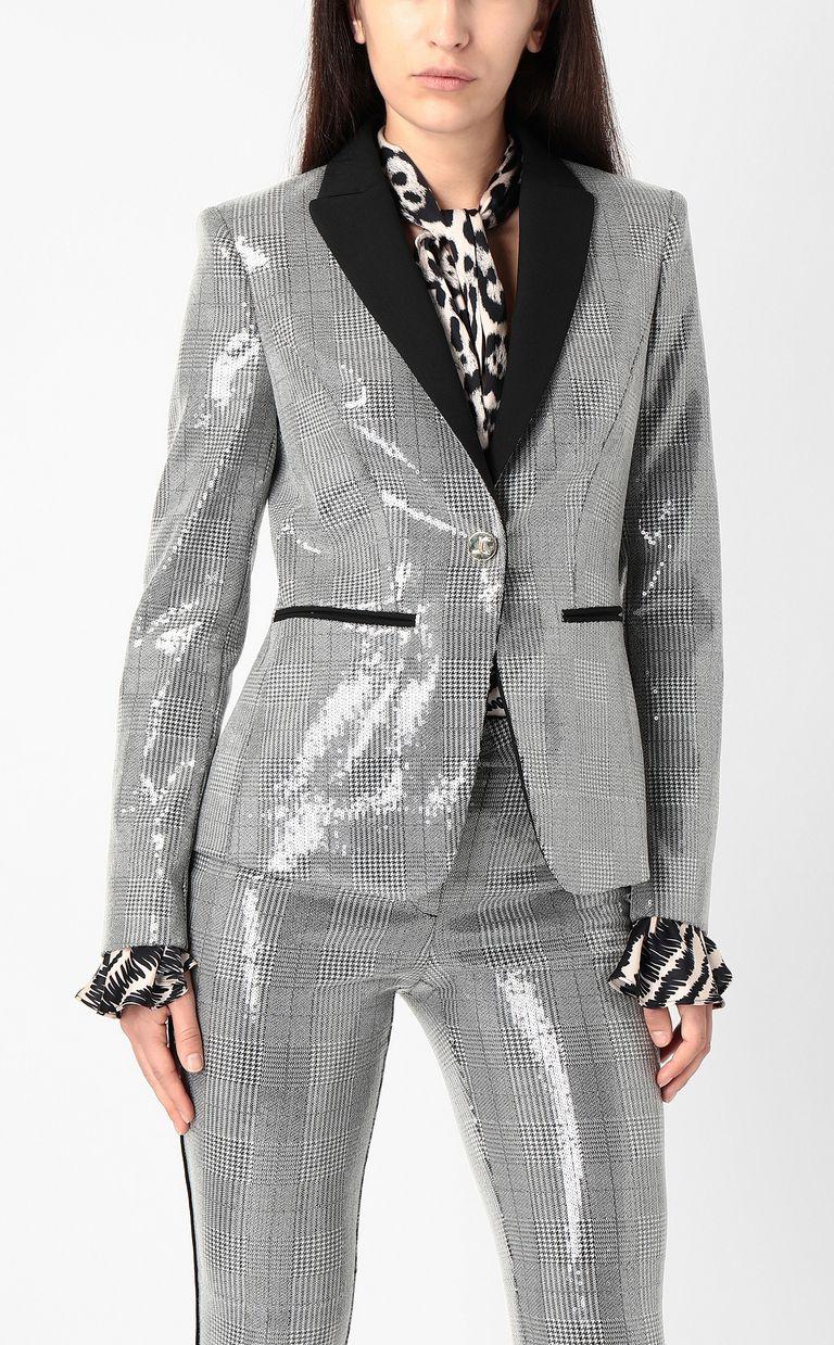 JUST CAVALLI Sequin blazer Blazer Woman r