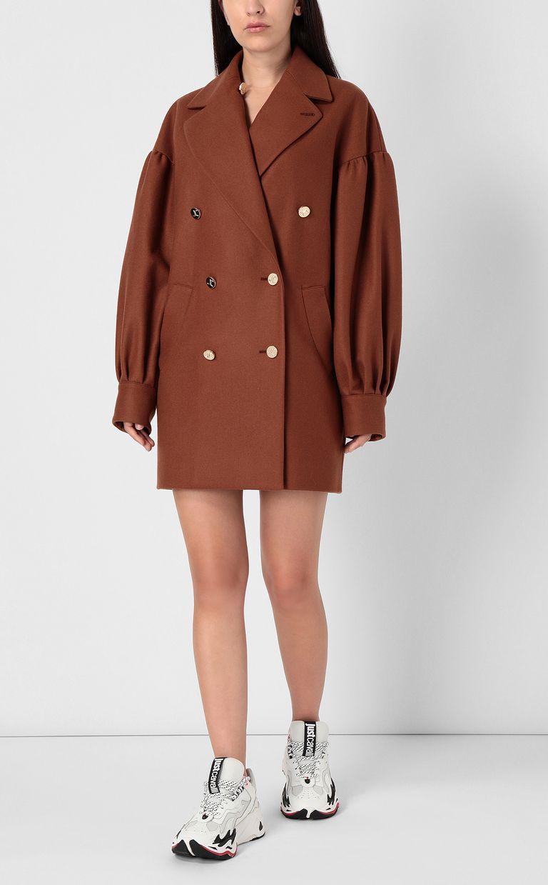 JUST CAVALLI Short coat Coat Woman r