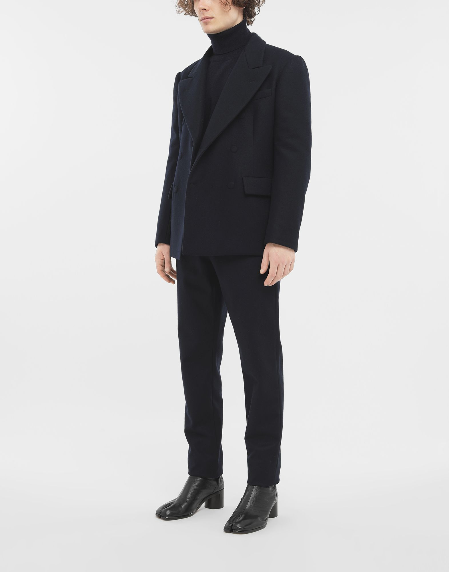 MAISON MARGIELA Fitted wool coat Blazer Man d