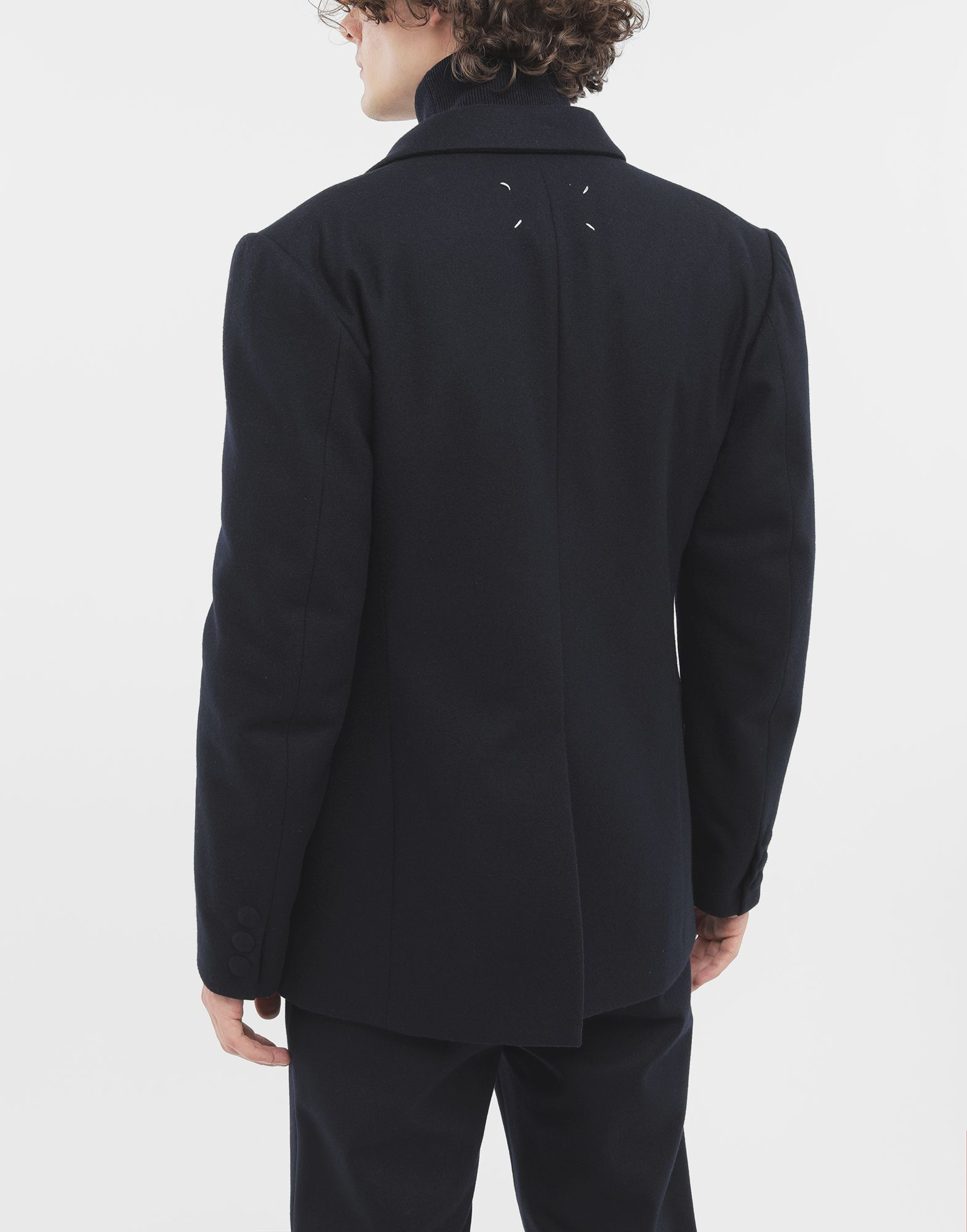 MAISON MARGIELA Fitted wool coat Jacket Man e
