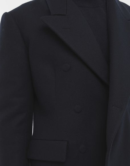 MAISON MARGIELA Fitted wool coat Blazer Man a