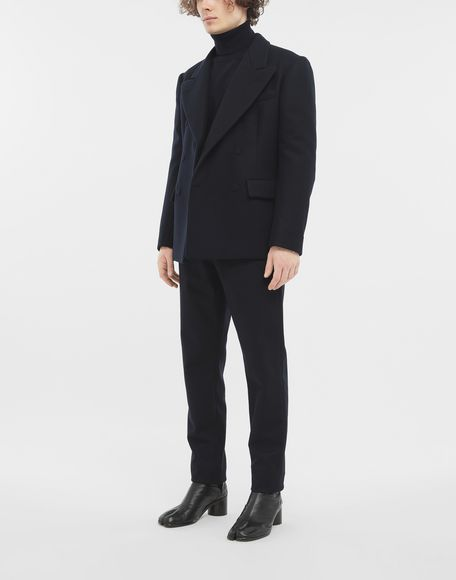 MAISON MARGIELA Fitted wool coat Jacket Man d