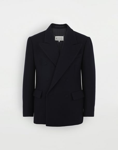 MAISON MARGIELA Fitted wool coat Jacket Man f