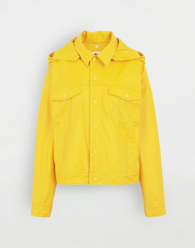 MM6 MAISON MARGIELA Hooded sports-jacket Light jacket Woman f