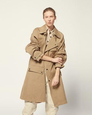 ISABEL MARANT ÉTOILE COAT Woman GABAO TRENCH r