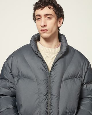 ISABEL MARANT COAT Man ERPER DOWN JACKET r