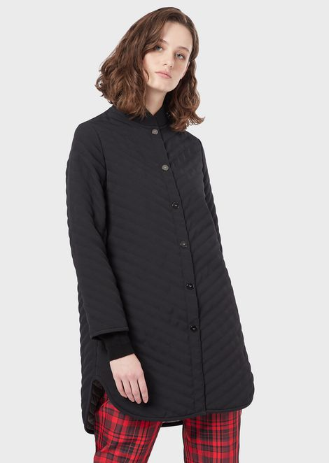 EMPORIO ARMANI Caban Coat Woman f