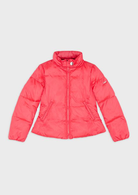 Quilted, padded jacket with zip