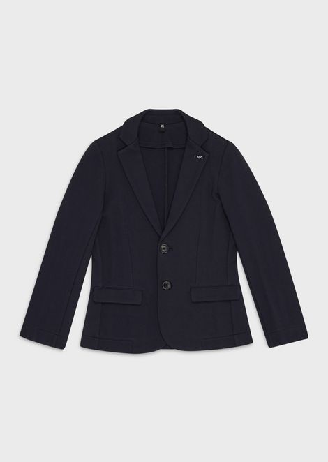 Single-breasted jacket with pockets