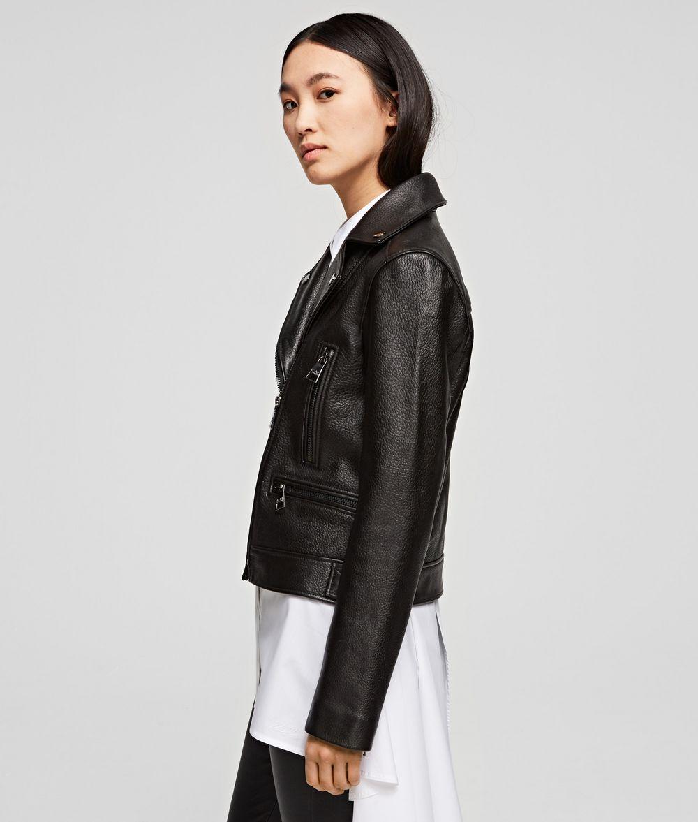 KARL LAGERFELD Karl x Olivia Biker Jacket Jacket Woman d