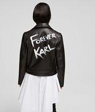 KARL LAGERFELD Karl x Olivia Biker Jacket 9_f