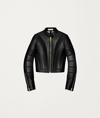 JACKET IN QUILTED NAPPA