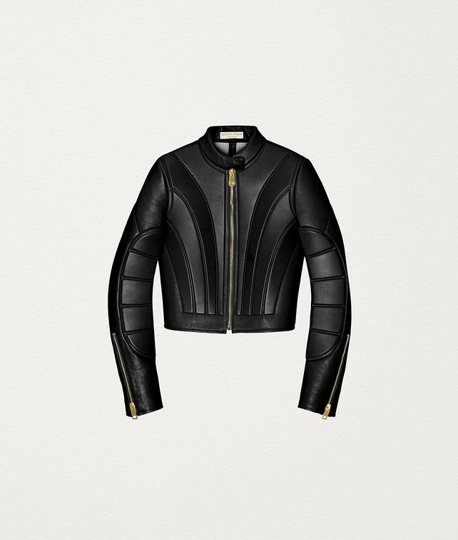 BOTTEGA VENETA JACKET IN QUILTED NAPPA Outerwear and Jacket Woman fp