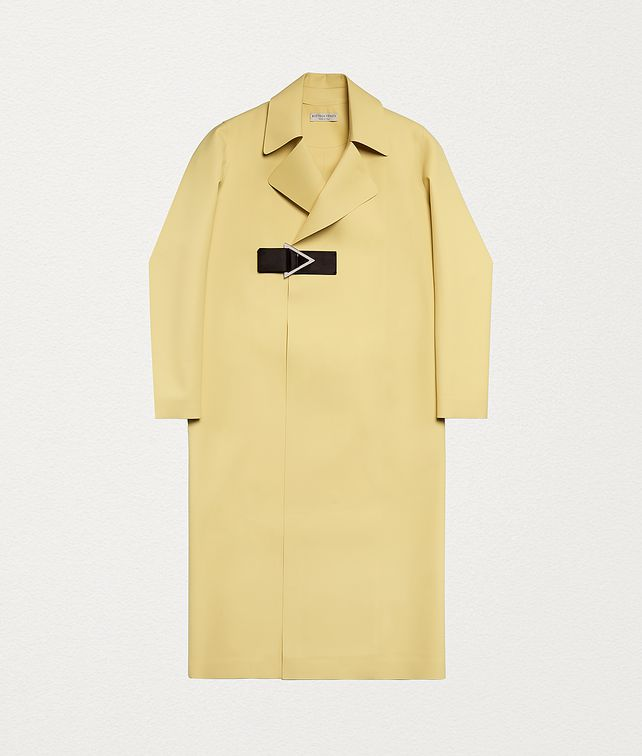 BOTTEGA VENETA COAT IN RUBBER SATINÉ Outerwear and Jacket Woman fp