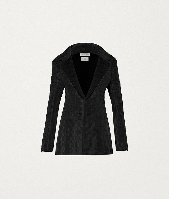 BOTTEGA VENETA JACKET IN WOOL AND SILK Outerwear and Jacket Woman fp