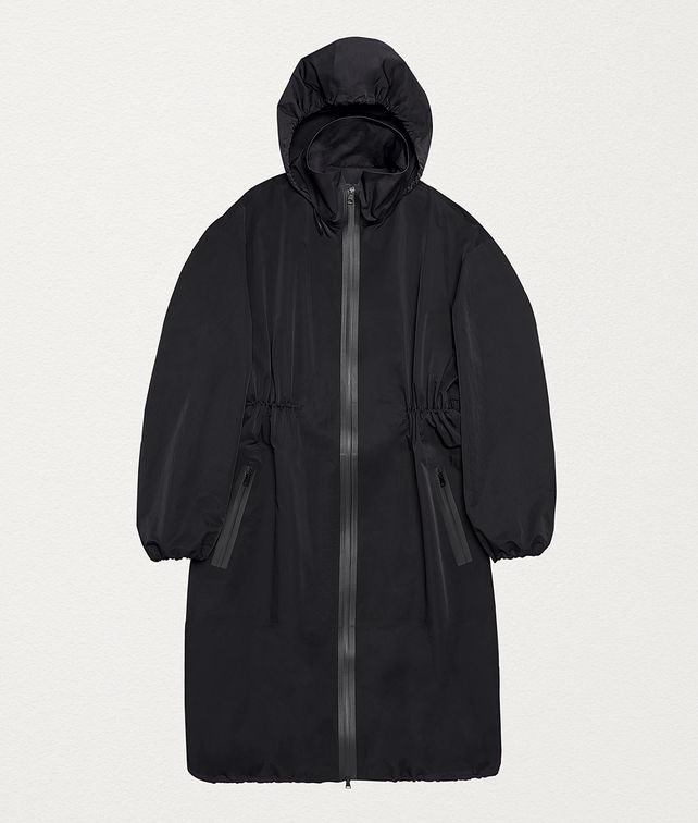 BOTTEGA VENETA ANORAK IN MATTE NYLON Outerwear and Jacket Woman fp