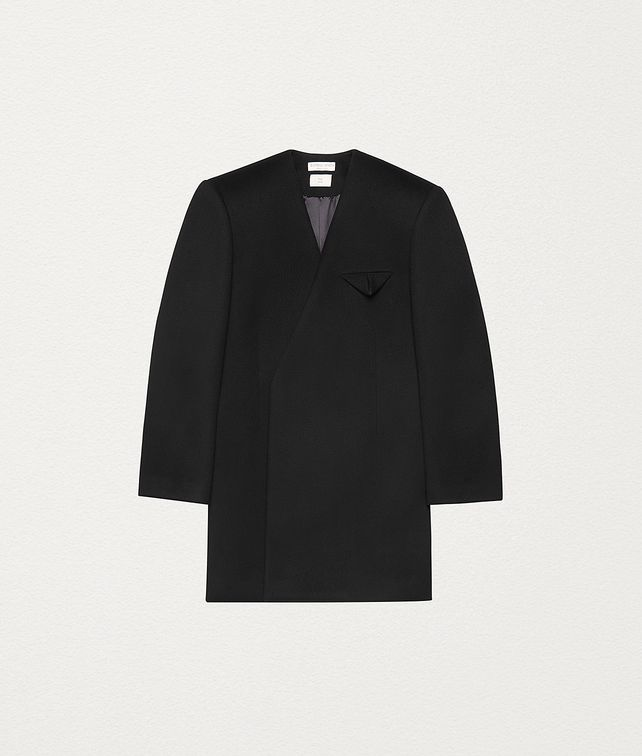 BOTTEGA VENETA COAT IN WOOL Outerwear and Jacket Man fp