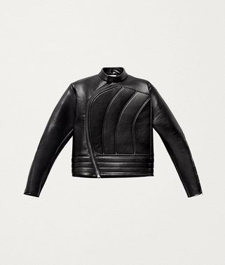 BIKER JACKET IN POLISHED CALF LEATHER