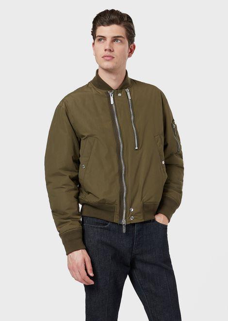 nuovo concetto 0ba17 35692 Giubbotti, giacche e piumini da uomo | Emporio Armani